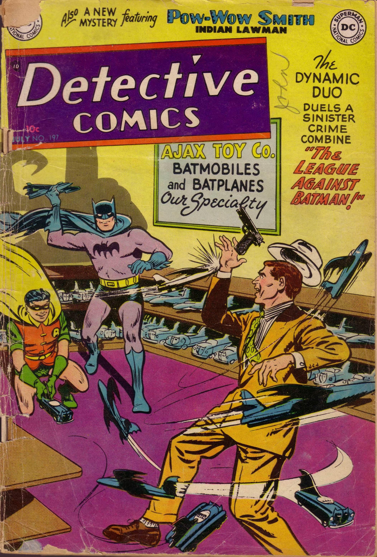 Detective Comics (1937) 197 Page 1