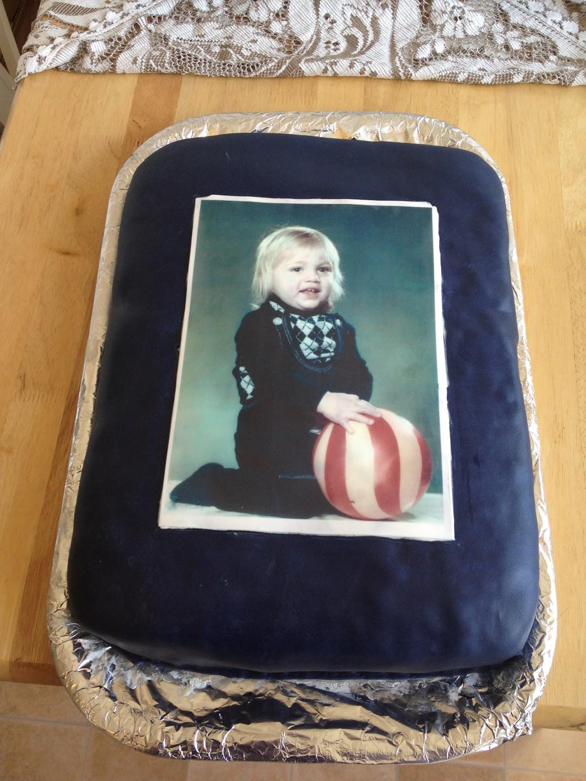 ätbar bild till tårta