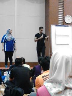 Seminar Gaya Hidup Sihat DI Kalangan Penjawat Awam Bersama Kevin Zhari At Intan Sabah