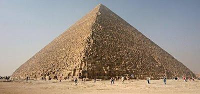 Anomali Thermal Ditemukan di Piramida Khufu