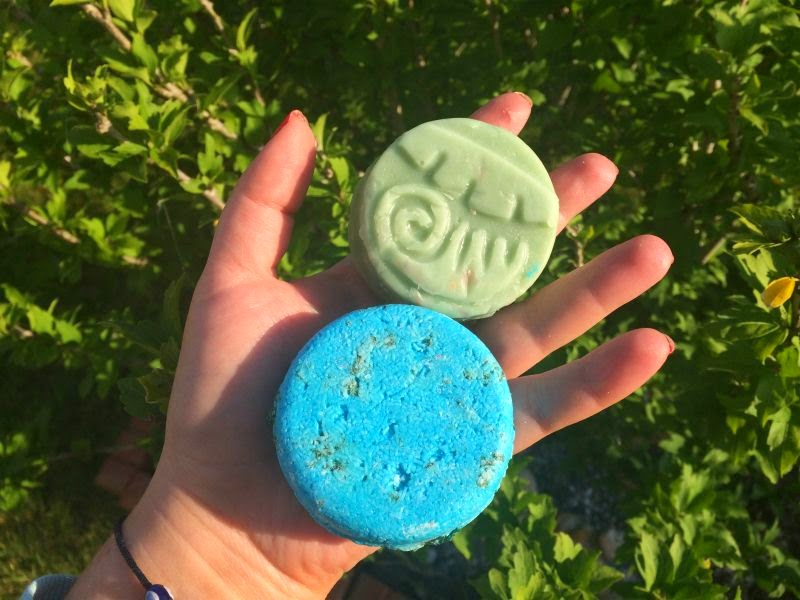 Lush Solid Shampoo and Conditioner Bars