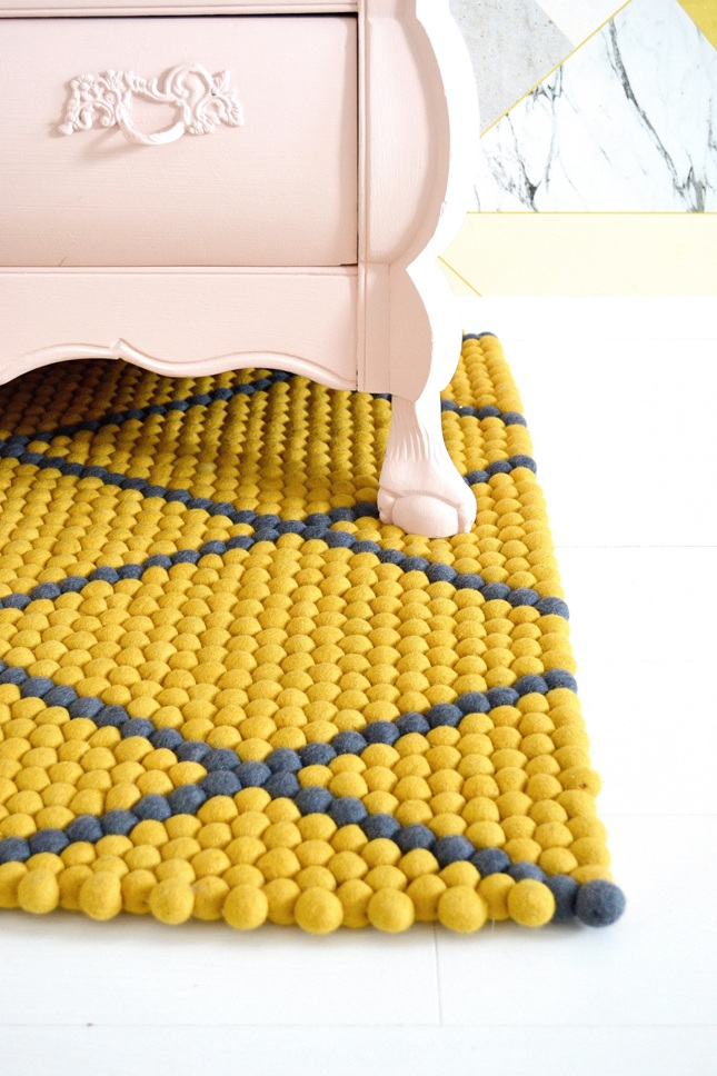 FRIVOLE: ★ Different ways to style your rug #1