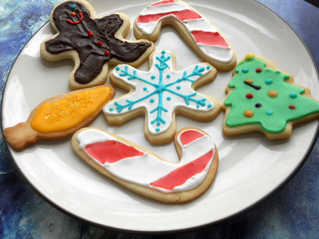 Merry Christmas And Sugar Cookies With Royal Icing Hezzi D S Books