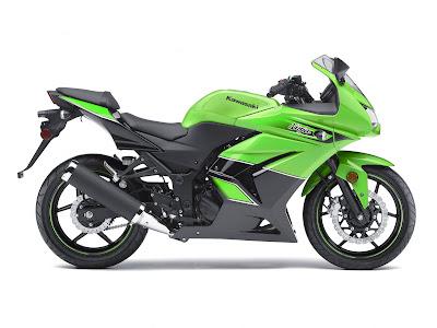 2011 Kawasaki Ninja 250R Green