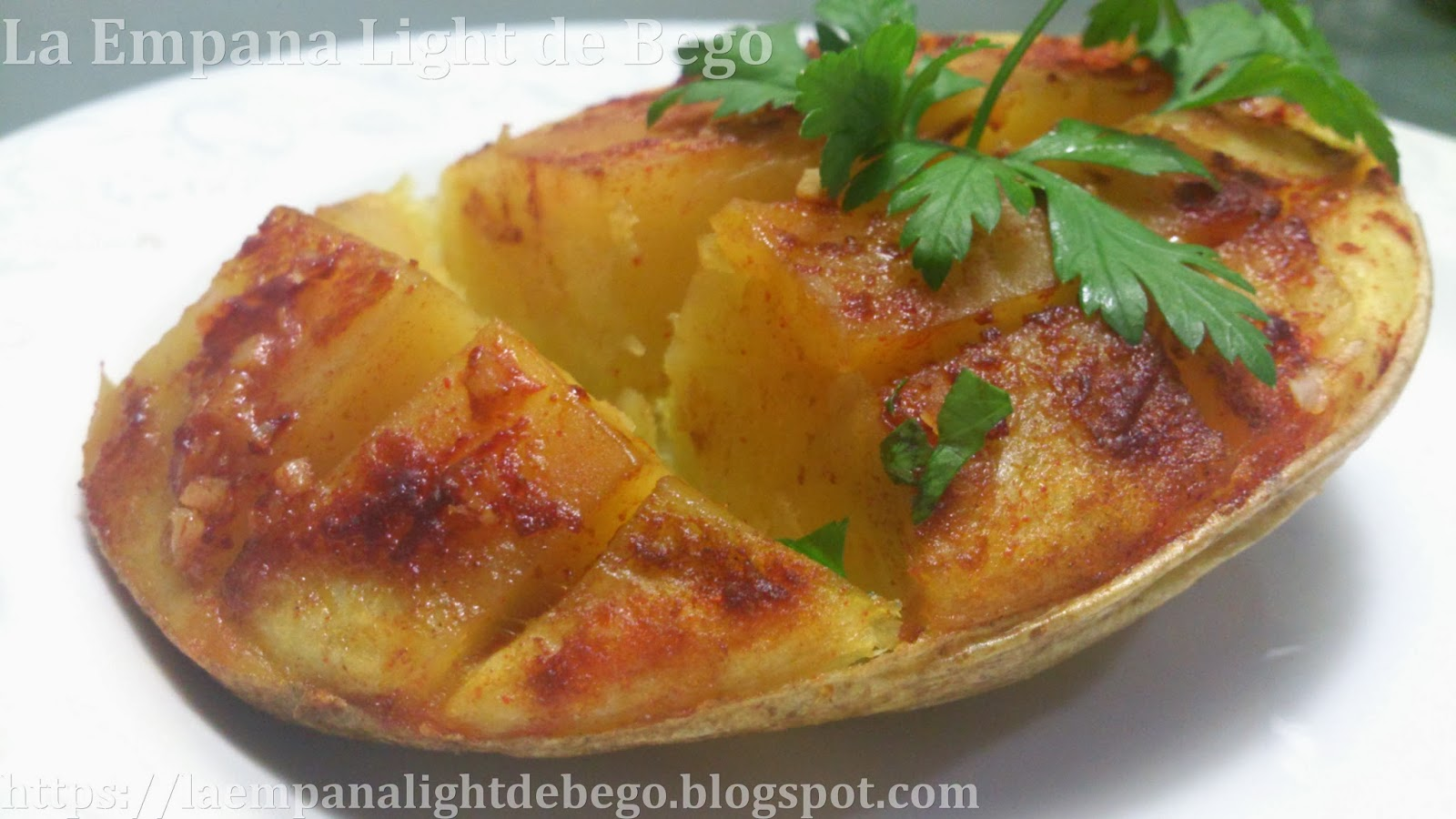 La empana light de bego receta de patatas expr s asadas - Patatas pequenas al horno ...