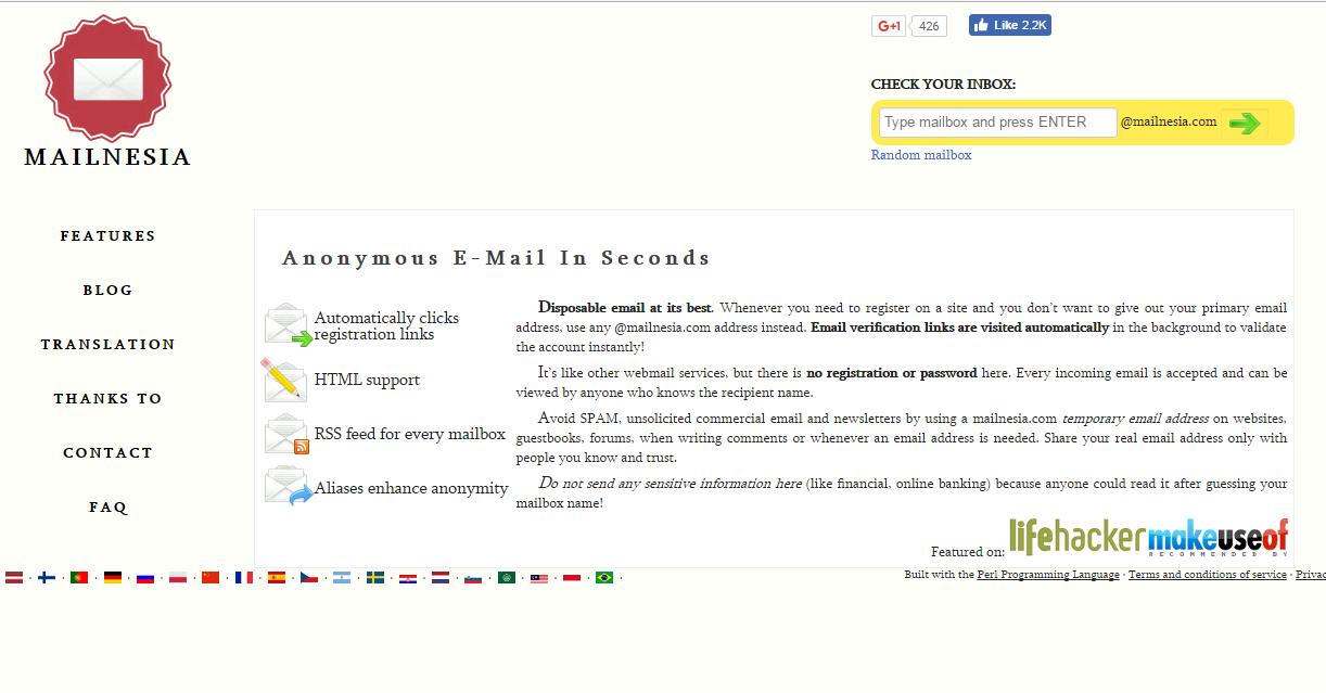 gmail generator temp mail fake email