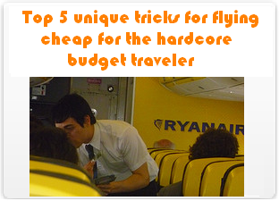 Top 5 Unique Tricks for Flying Cheap