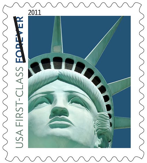 statue of liberty las vegas stamp. statue of liberty las vegas