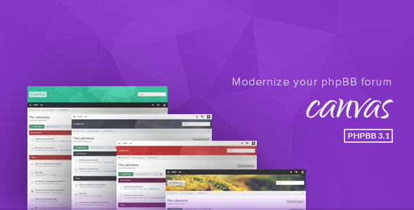 Download Canvas - Modern PhpBB3.1 Theme