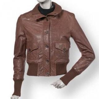 Jaket kulit wanita berikut adalah gambar model model jaket kulit
