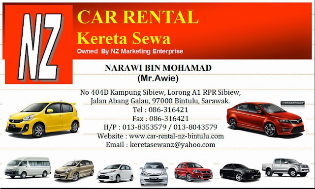 travel guide car rental bintulu qaseh dalia. Black Bedroom Furniture Sets. Home Design Ideas
