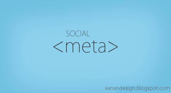 Blogger Sosyal Meta Tag(Etiketi) eklemek