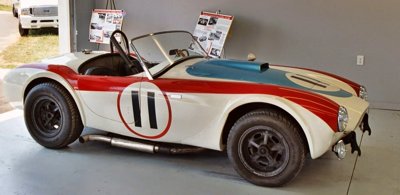 Just A Car Guy: the 1st Shelby Cobra race car a customer bought is ...