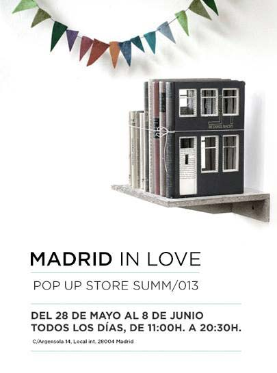 Madrid in Love Pop Up Store SUMM 2013