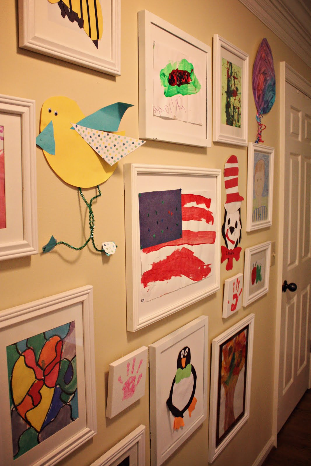 The Blue House Chronicles Kids 39 Art Wall