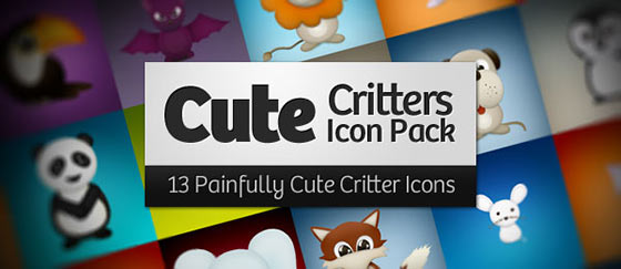 Free Cute Critters Free Icon Pack Sets