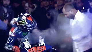 Jorge Lorenzo, Burned, MotoGP