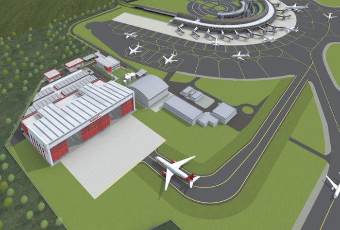 Avianca MRO rionegro hangares