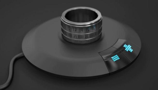 anello orologio ring clock prezzo