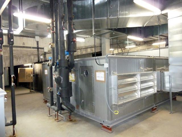 AASB visita CREAA. Instalaciones aire y calefacción del Auditorio