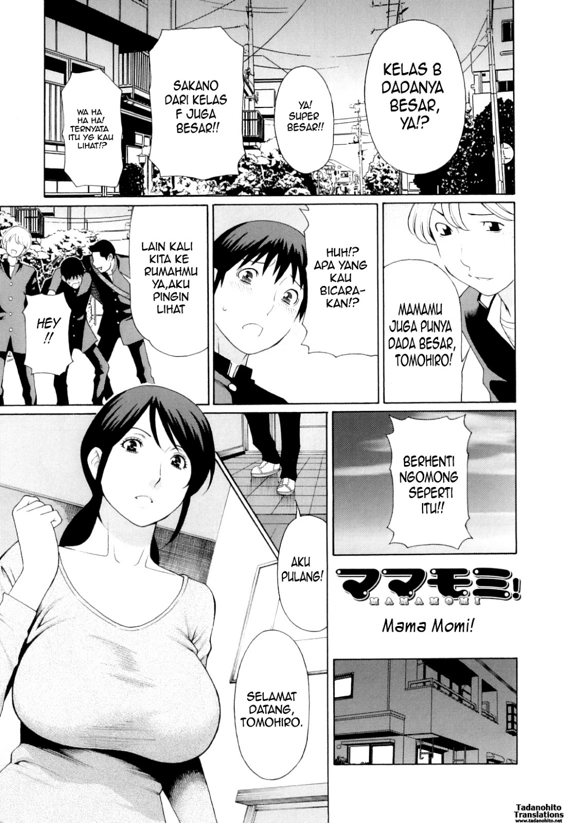 My Mother Chapter 5 Indonesia – manga hentai indonesia