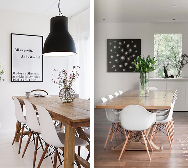 Inspiraci n encima de la mesa decorar tu casa es - Que poner encima de una mesa de comedor ...