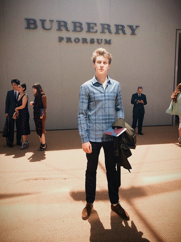 George MacKay Burberry Prorsum Spring Summer 2015 London Collections Men LCM