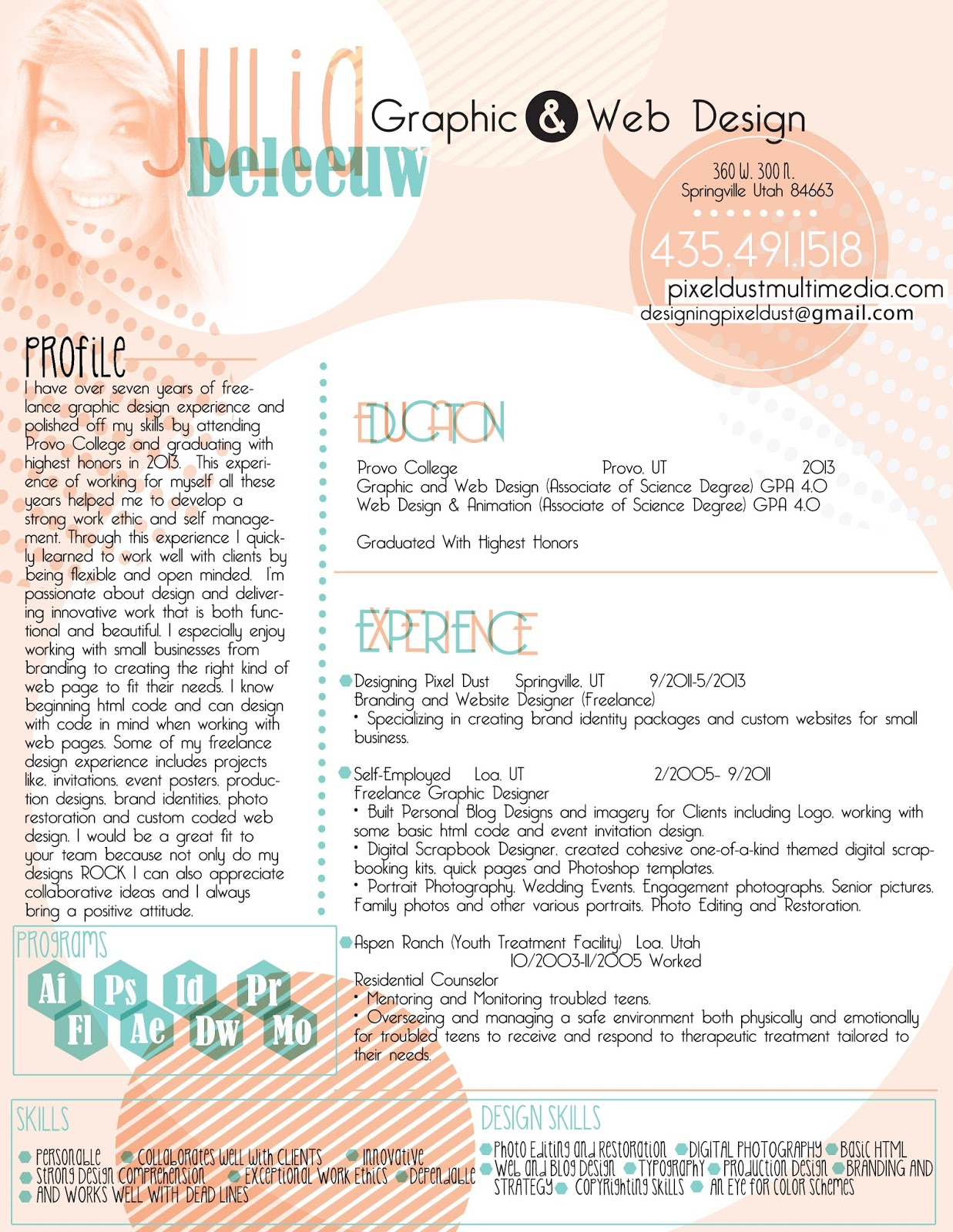 ... Resume Examples Graphic Design - Graphic Designer Resume Sample