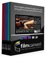 FilmConvert Pro 2.06 for After Effects and Premiere Pro Full Crack