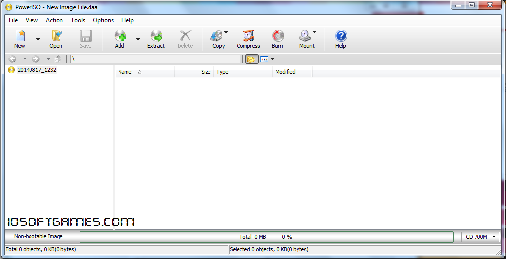 PowerISO 6.0 Screenshot