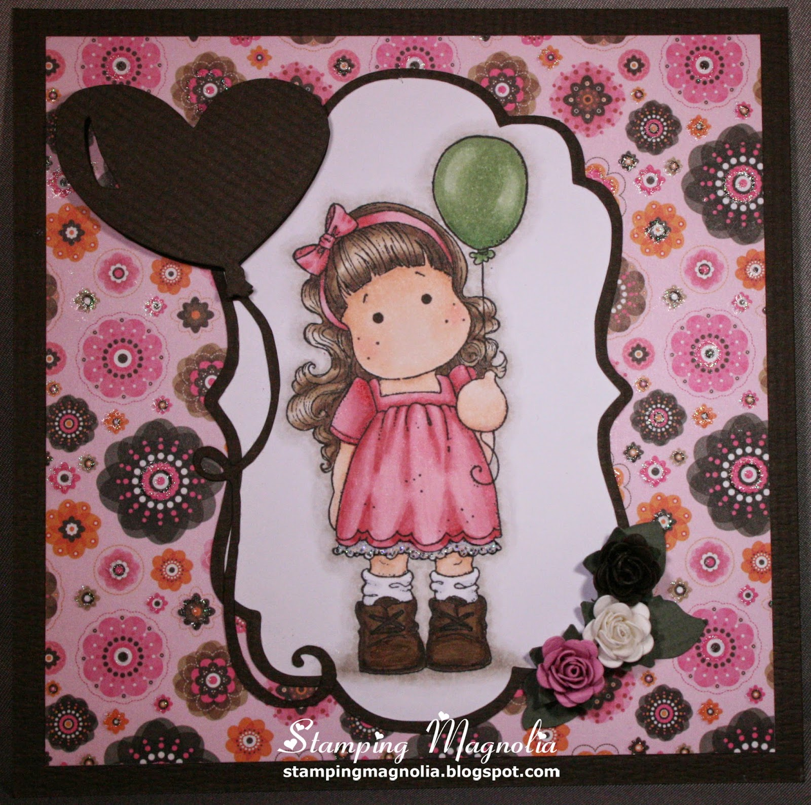 Coloring Magnolia Stamp You Are So Special Collection - Tilda with Balloon