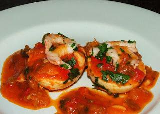 Receta de huevos en salsa de tomate