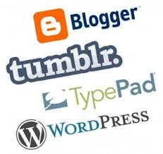 Blog Platforms Logos