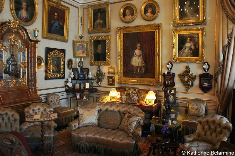 Queen Louise's Salon, Amalienborg Palace, Copenhagen, Denmark