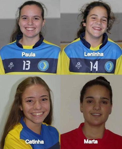 Futsal Feminino  Quatro atletas do Nun Álvares convocadas para a Selecção  Sub 19 4e8f9169ff47c
