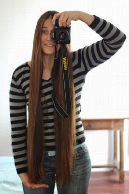 Gaya Rambut Terpanjang Di Dunia