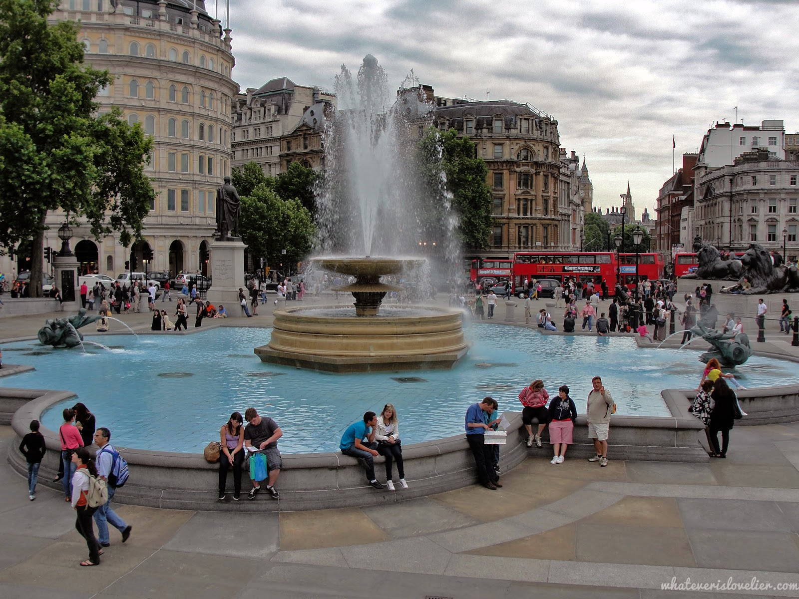 Travel Tuesday: Trafalgar Square and The Ship in the Bottle