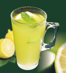healthy lemon juice