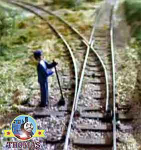 Fireman switched junction points across Toby and Henrietta discovery adventure on Sodor really began
