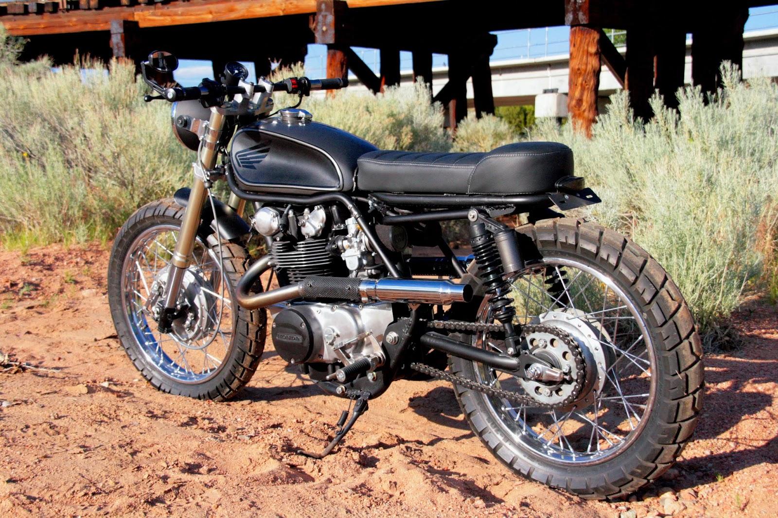 1972 HONDA CL498 Super Scrambler