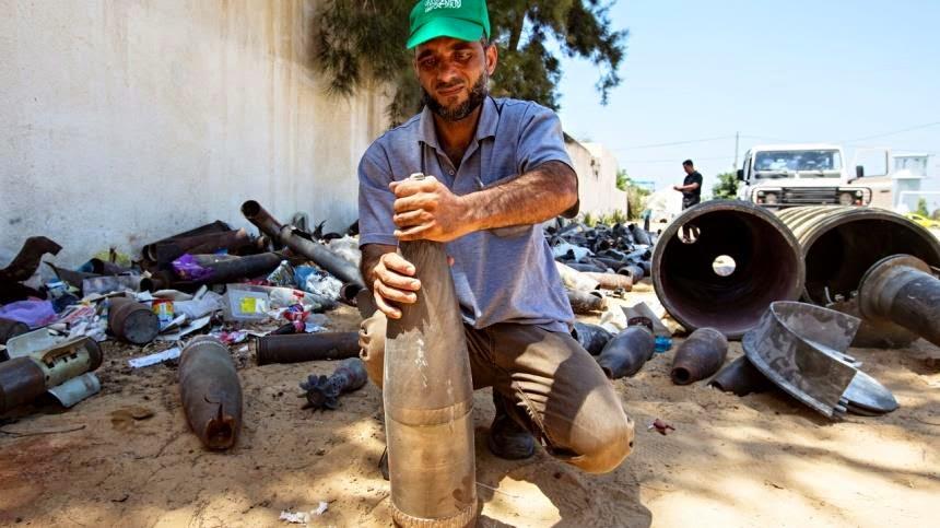 pakar bomb gaza meninggal dunia