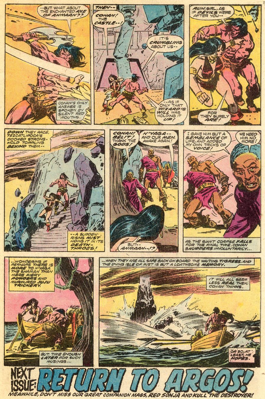 Conan the Barbarian (1970) Issue #65 #77 - English 18