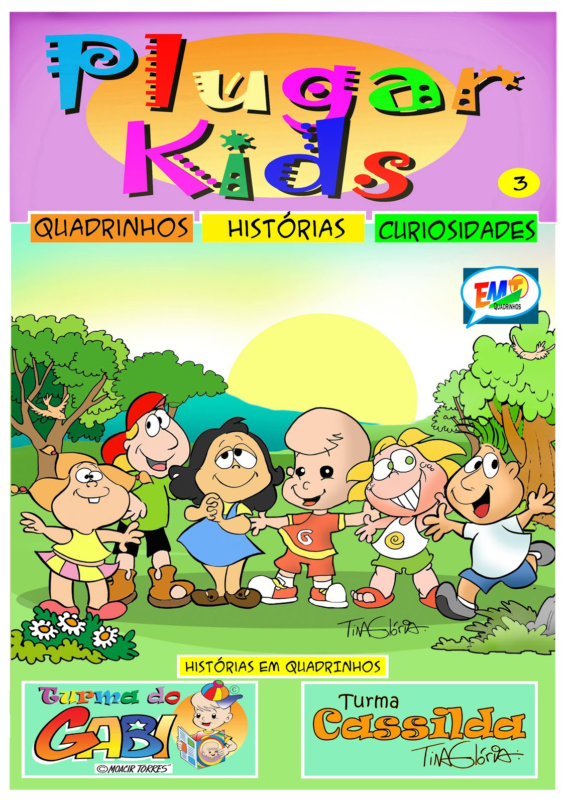 Revistas Plugar Kids - Digitais