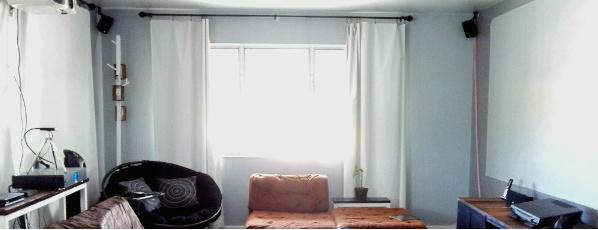 Sunnyside Up Stairs Hemless Blackout Curtains