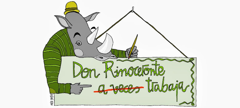 don rinoceronte a veces trabaja