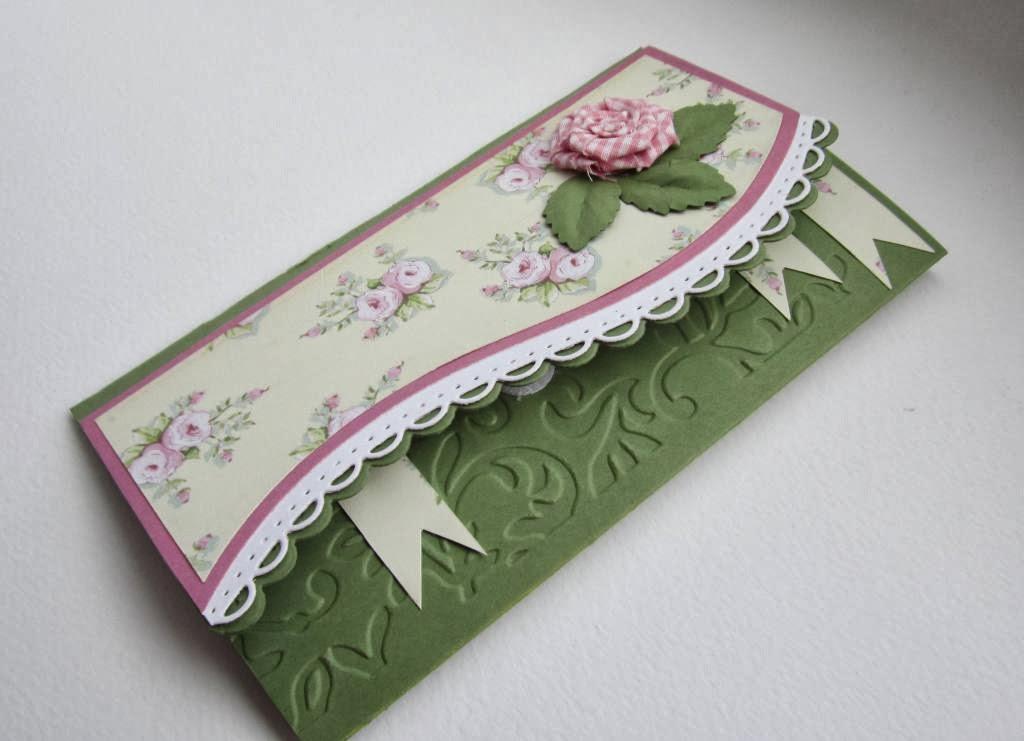 Изготовление фигурной открытки 4