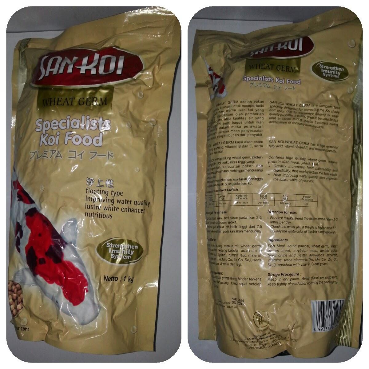 Cp Petfood Pakan Koi Pk 2mm Red 10kg Fish Food Daftar Update Harga San Wheat Germ 5mm 1kg