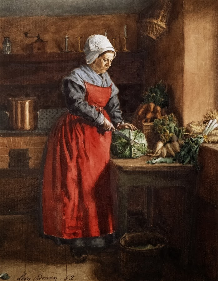 Researching food history cooking and dining carrots in art for 18th century cuisine