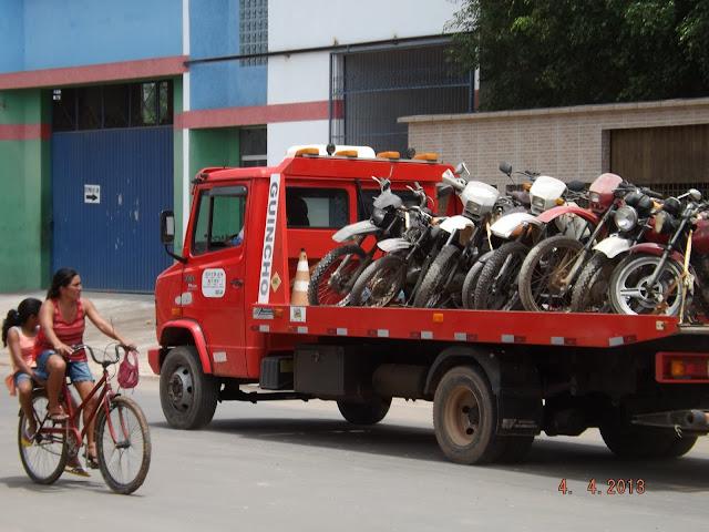 TARAUACÁ: Motos apreendidas no nosso município irão a leilão