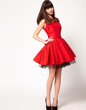 Vestidos de nochevieja rojos